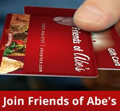 Friends of Abe's at Abe's Place