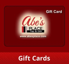 Gift Cards at Abe's Place